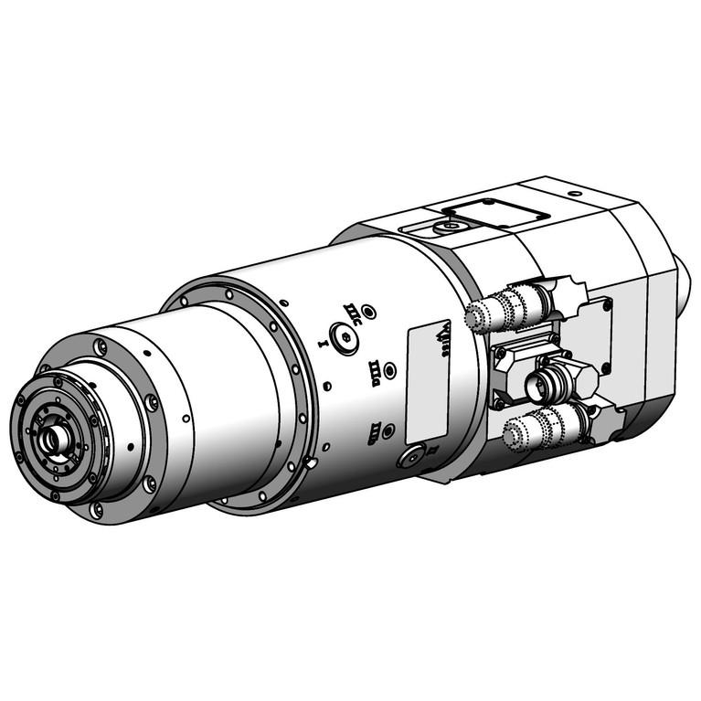 milling spindle F120PACF3010007SL36KG_8870