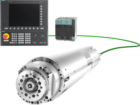 WEISS Spindle with sensor Modul