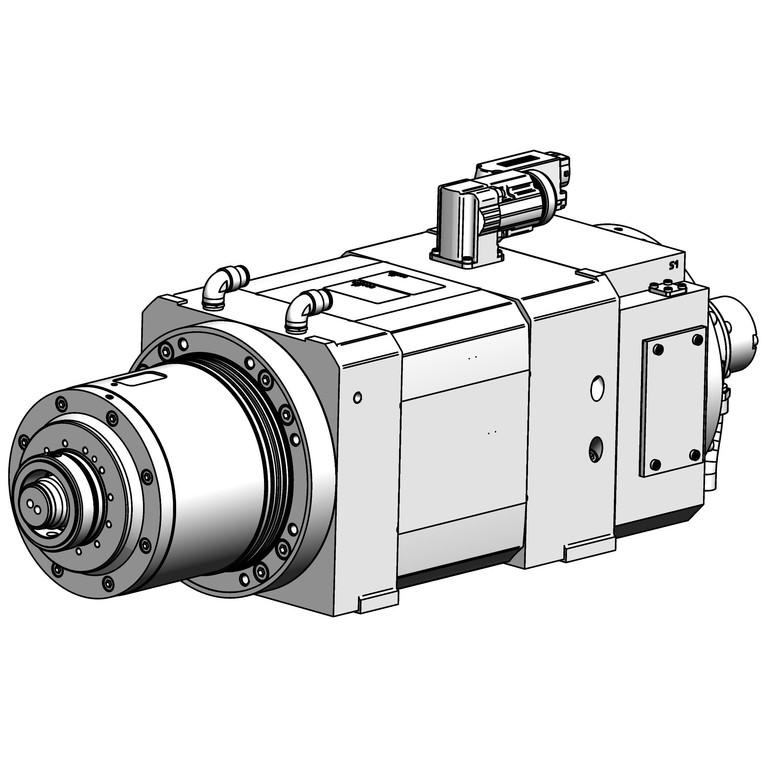 milling spindle F200BBEF1203012AVKKKA_11004