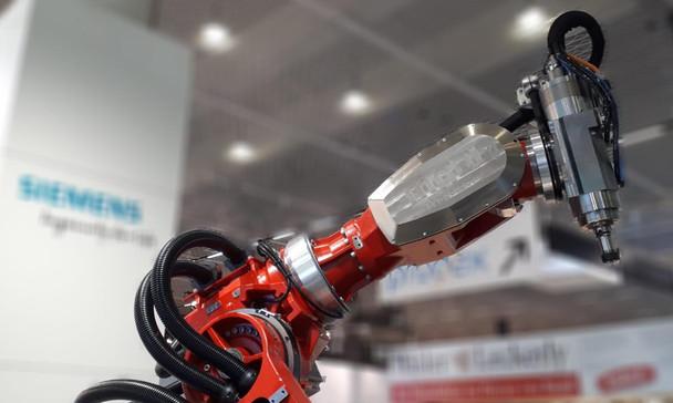Spindeln zum Zerspanen mit Robotern