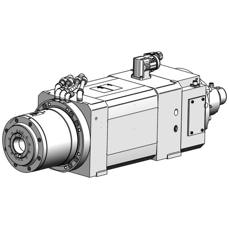 milling spindle F200BECF1202012AV36KD_16684