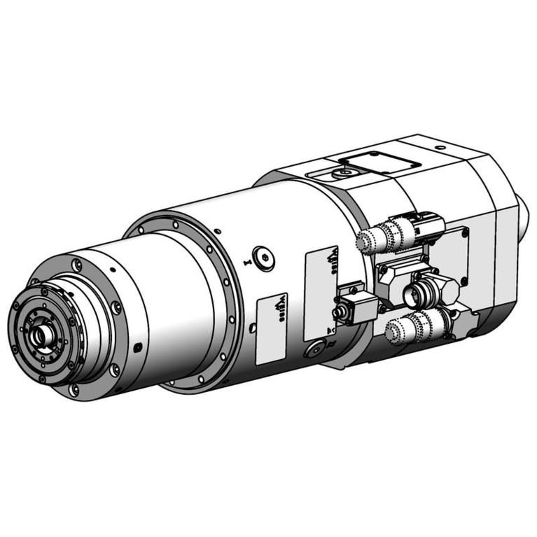 milling spindle F120PACF3010007SL36FJ_8122
