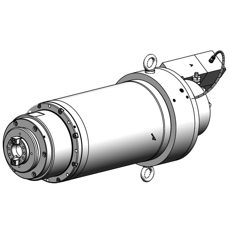 milling spindle F170PEBF1012028AH1-KL_6545
