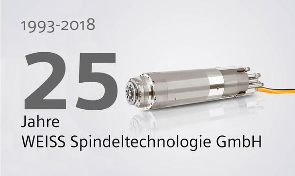 25 Jahre WEISS Spindeltechnologie GmbH