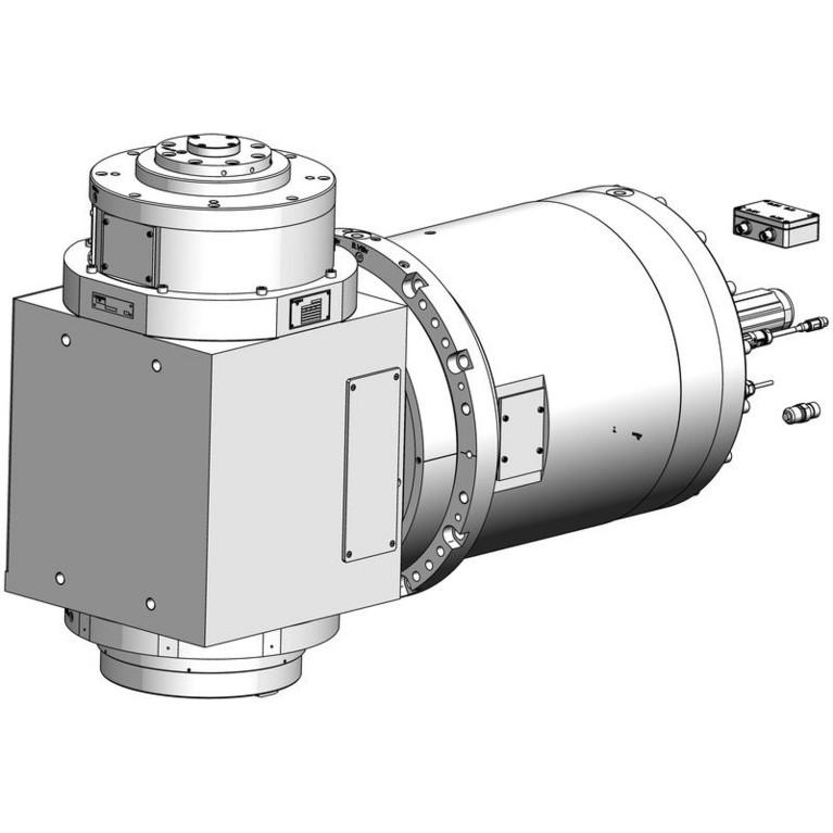 milling spindle 3DC-1+BT100